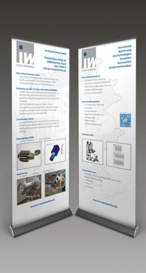 RollUp Banner iw-Maschinenbau