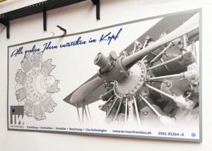Schild iw-Maschinenbau