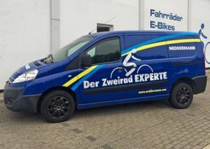 Fahrzeugbeschriftung Neddermann