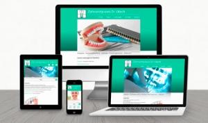 Webseite Zahnarztpraxis Dr. Utech